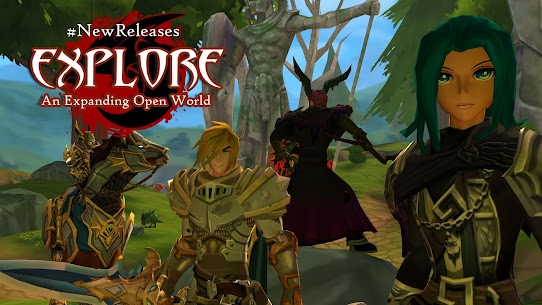 AdventureQuest 3D 1.5.4 Apk (Infinite Gems) MOD 4