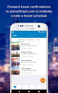 TripIt: Travel Organizer – Miniaturansicht des Screenshots