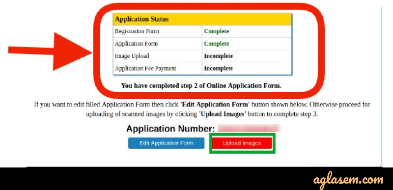 JEE Main 2021 Application Form Status