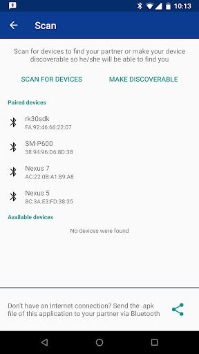 Bluetooth Chat 1.3.2 screenshots 4