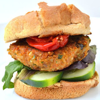 Garam Masala Veggie Burger [Vegan]