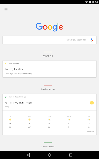 Screenshot 13 for Google's Android app'