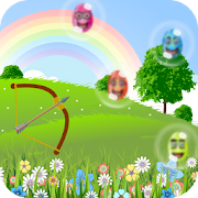 Easter Bubble Shooter Archery