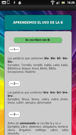 Learn to read in Spanish screenshot 12