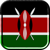 Kenya Flag Live Wallpaper