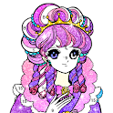 Princess glitter color by number-Paint by Number icon