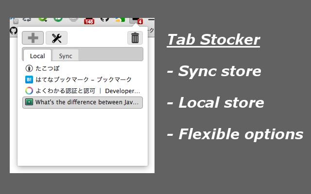 Tab Stocker