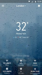 Download Weather & Clock Widget Free For PC Windows and Mac apk screenshot 5