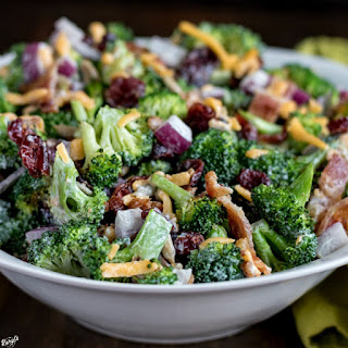 Broccoli Salad with Homemade Dressing Recipe