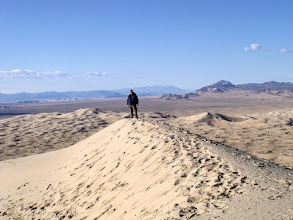 Photo: Me, on top of the world (or rather, on top of the dunes) :)