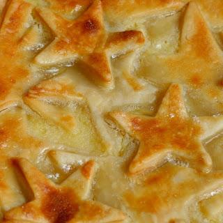 Award-winning Pineapple Custard Pie.