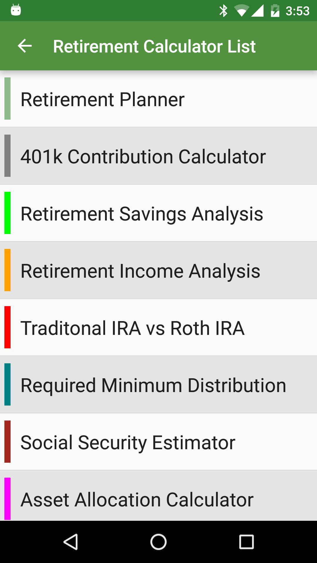Financial Calculators screenshot #6