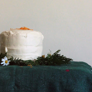 Sugar Free Carrot Cake with Honey Cream Cheese Frosting