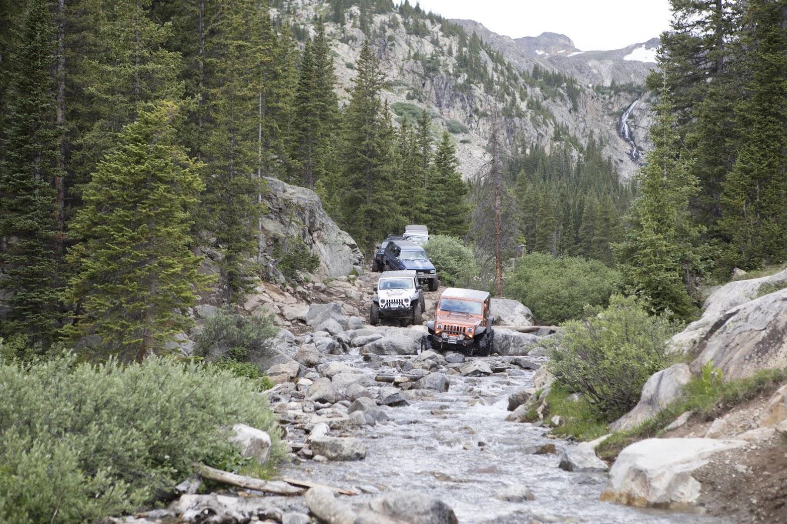 return trip through French Creek
