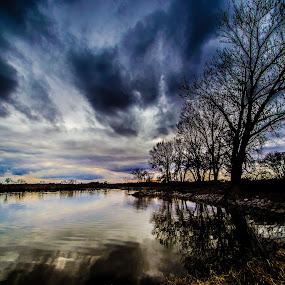 Mysterious Lake by Bruce Thiel - Uncategorized All Uncategorized ( #spooky, #myterious,  )