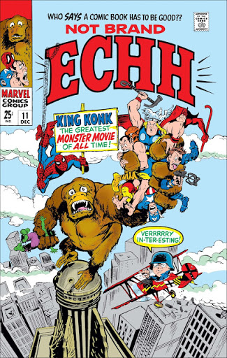 Not Brand Echh #11 - The King Kong Issue!