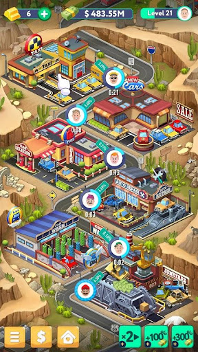 Code Triche Tap Tap Capitalist - City Idle Clicker APK MOD screenshots 4