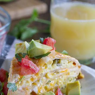 Breakfast Tortilla Stack.