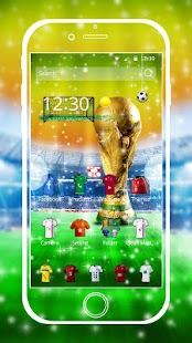Theme football jersey golden screenshot 1