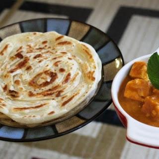 Malabari Parotta or Kerala Parotta (Without egg)