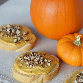 Pumpkin Cream Cheese Pecan Appetizers.
