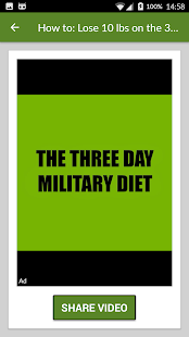 Military Diet lose weight fast for PC-Windows 7,8,10 and Mac apk screenshot 4