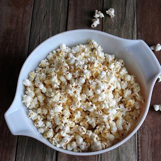 Parmesan Garlic Popcorn.