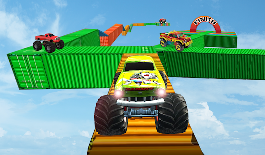 Monster Truck Stunt Race : Impossible Track Games - náhled