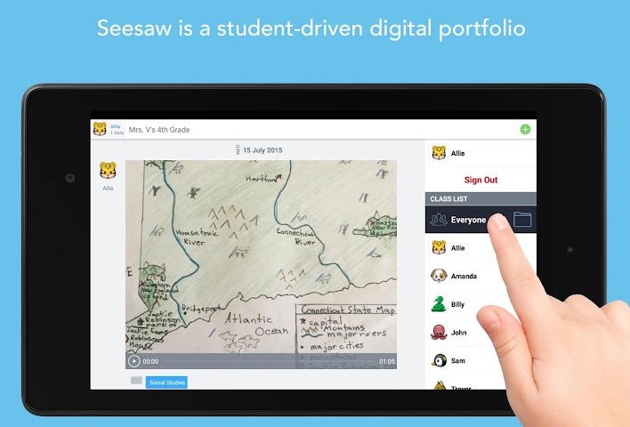 android Seesaw: The Learning Journal Screenshot 0