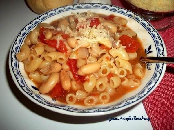 ~ Gram's Simple Pasta Soup ~ Recipe