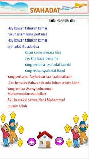 Lagu Anak Muslim Juzamma screenshot 3