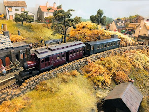 Photo: 014 Whilst this train pulling in at Castle Halt has something of a more exotic colonial air about it! .