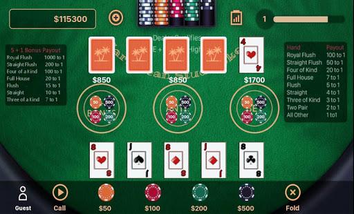 Caribbean Stud Poker 1.1.7 screenshots 10