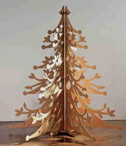 聖誕樹手工藝創意