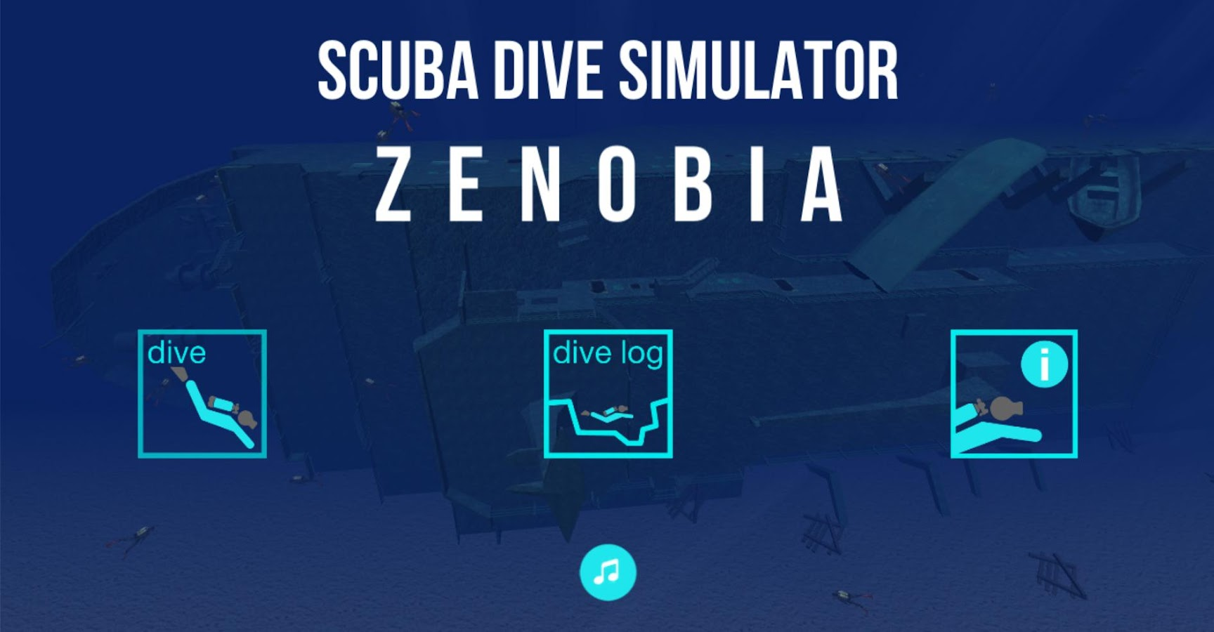 Scuba Dive Simulator: Zenobia- screenshot