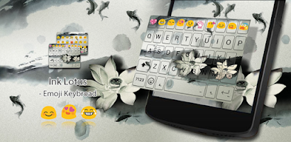 Ink Lotus Emoji Keyboard Theme - Android app on AppBrain