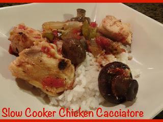 Slow Cooker Chicken Cacciatore Recipe