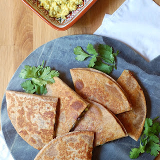 Cuban Black Bean Quesadillas