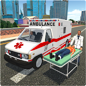 Big Ambulance Doctor Rescue 3D