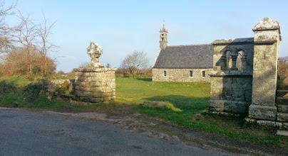 Photo: La chapelle Saint-Ronan, haut de la Montagne de Locronan