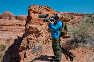 Photo: PBS Film Crew for Passover in Moab, Utah.
