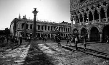 Photo: St. Mark's Square Venice  My contribution to: #monochromemonday +Monochrome Mondaycurated by +Hans Berendsen+Jerry Johnson+Manuel Votta+Steve Barge+Nurcan Azaz #breakfastclub by +Gemma Costa #plusphotoextract by +Jarek Klimek