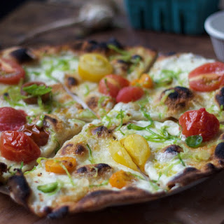 Tomato & Brussels Sprout Pizza by Andris Lagsdin