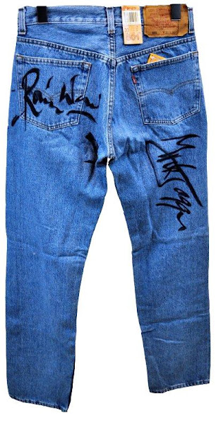 Photo: Win this autographed pair of 501® jeans by none other than the Rolling Stones!  Make your bid > http://www.ebay.com/itm/Levis-501-Jeans-Hand-Signed-Rolling-Stones-Mick-Jagger-Keith-Richards-Ronni-/120921275981?pt=US_CSA_MC_Jeans&hash=item1c27783e4d#ht_500wt_1413