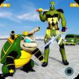 Turtle Hero Car Transform Robot Shooting Games