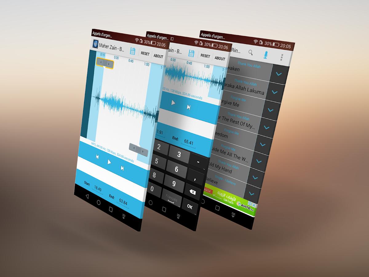Easy Ringtone Maker-MP3 Cutter- screenshot