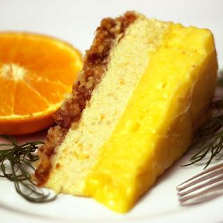 Orange Mango Freezer Cake.