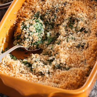 Spinach and Gruyère Gratin