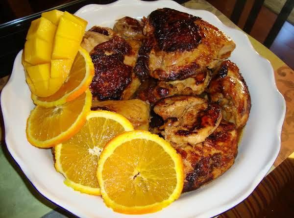 Mango Orange Chicken
