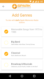 SPARK Memories Radio- screenshot thumbnail